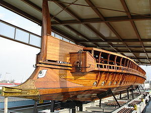 The Olympias - Modern Trireme Recreation